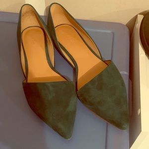 J crew suede shoes